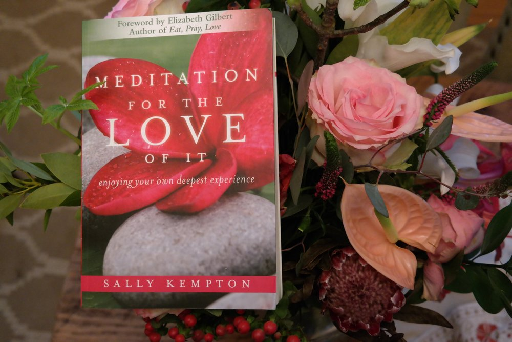 Meditation for the Love of it Sally Kempton
