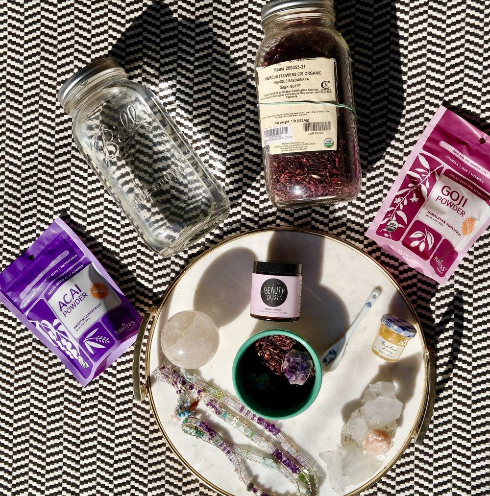 Superfoods+Crystals+LOVE Amethyst Crystal Tea