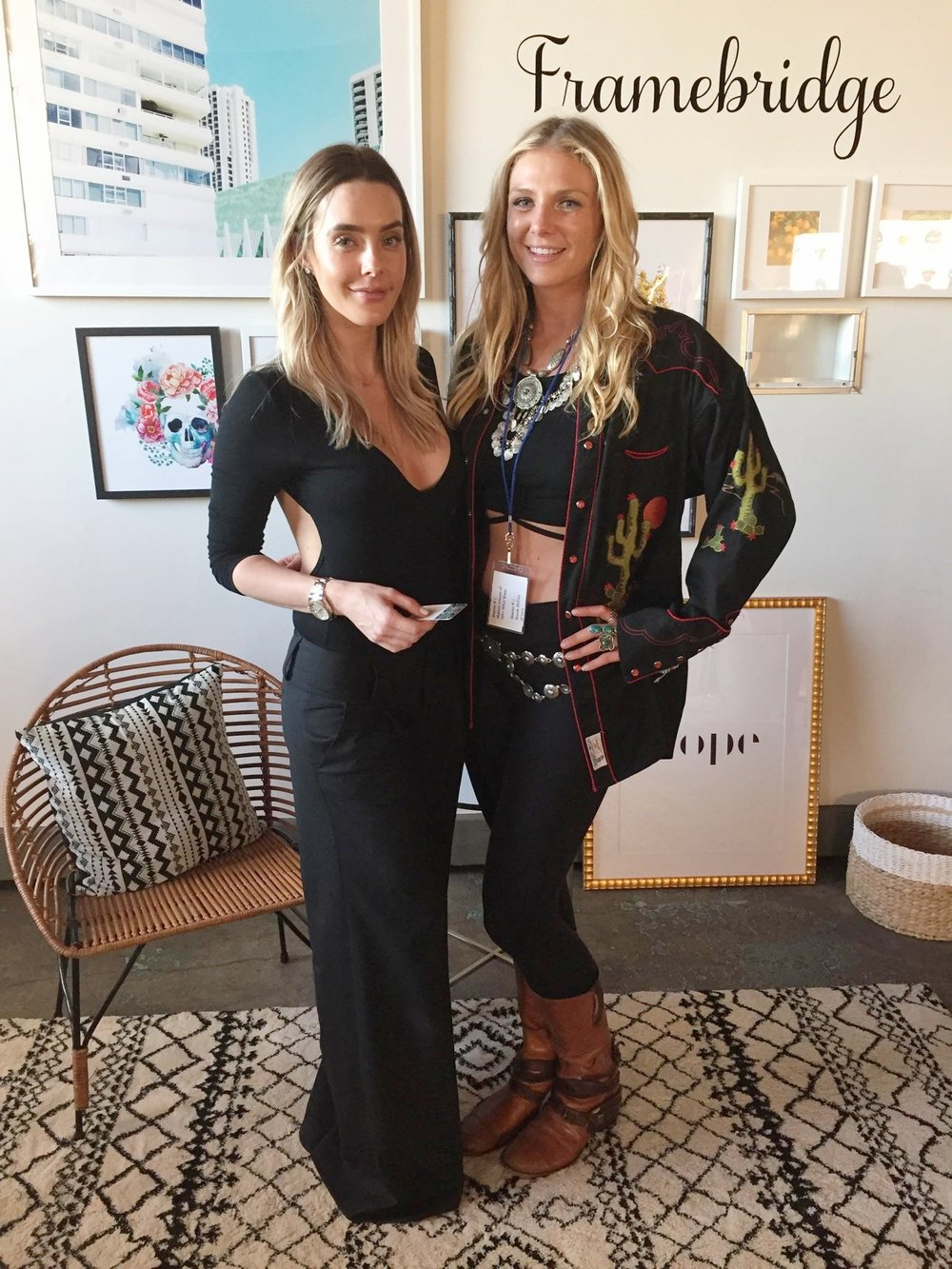 Met this beauty and business-blogger powerhouse  Lauryn Evarts  of  The Skinny Confidential . Can't wait to see what kind of magic she will be making next!