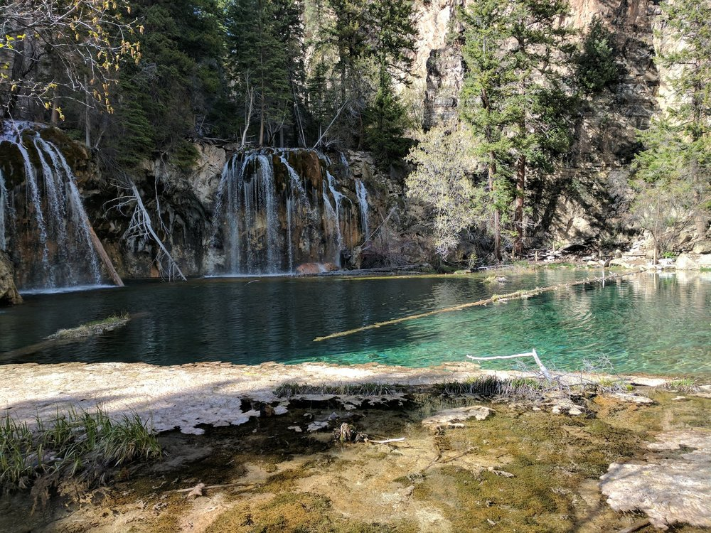 Hanging Lake Hike one of the most beautiful hikes I've discovered in CO so far