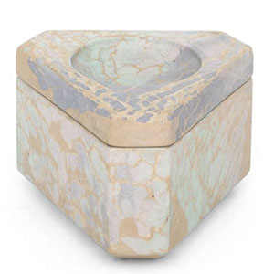 A Stash Box? A Jewelry Box? Both?!?!? - All we know is that we want this beautiful marble box on display.