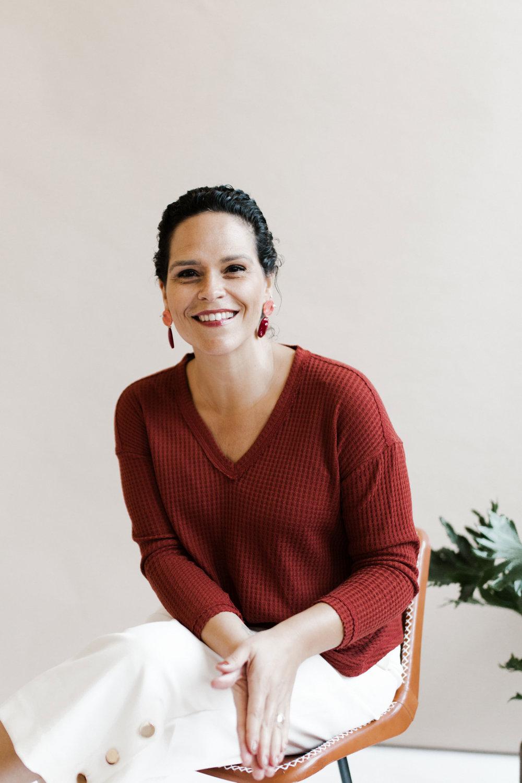 Camila Dias - owner and designer of Carta Plena