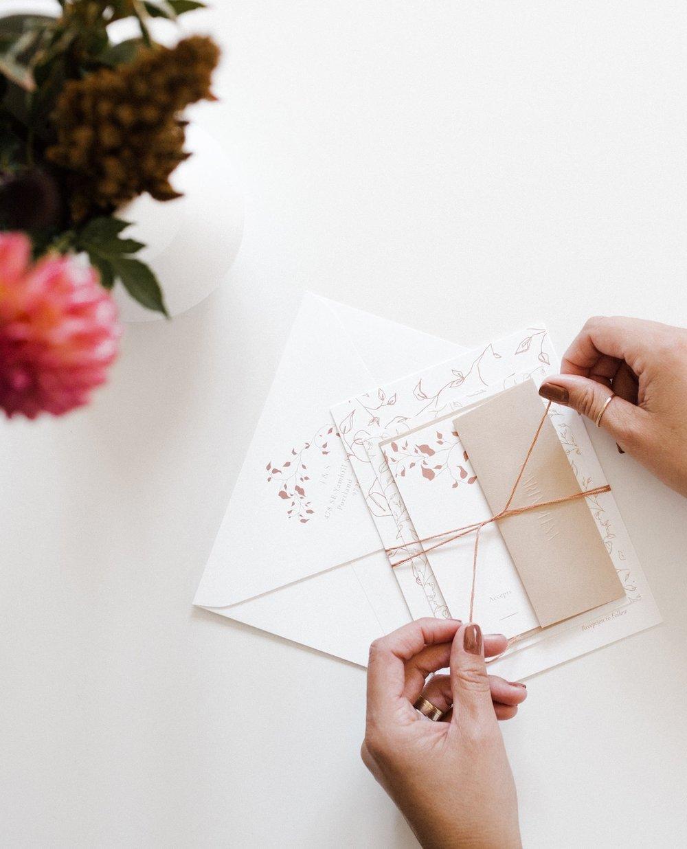 Carta Plena - Custom Wedding Invitations - Features