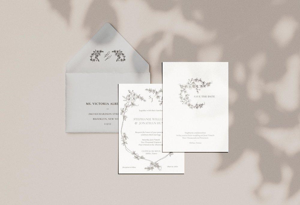 Carta Plena Stephanie Suite Cards