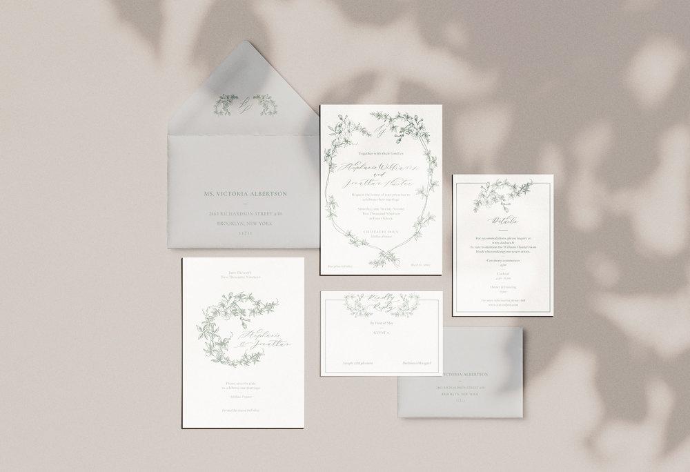 Carta Plena Stephanie Suite Calligraphy