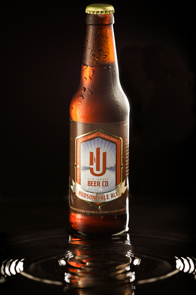 One shot from the campaign we're shooting for the New Jersey Beer Company. Their fantastic Hudson Pale Ale.