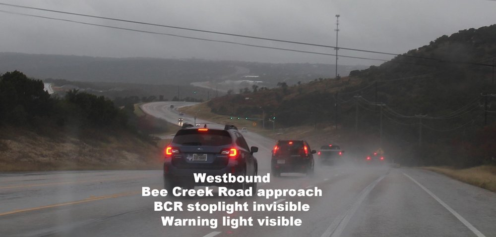 Bee Creek Road light not visible 1.jpg