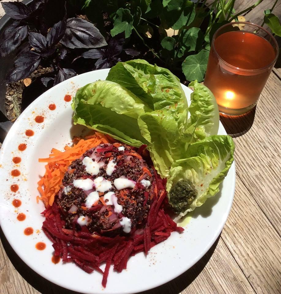 Sprouted Quinoa Salad & Kombucha.jpg