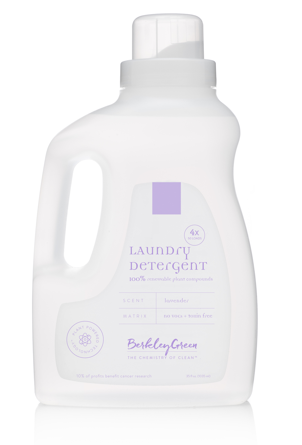 4x Lavender Laundry Detergent