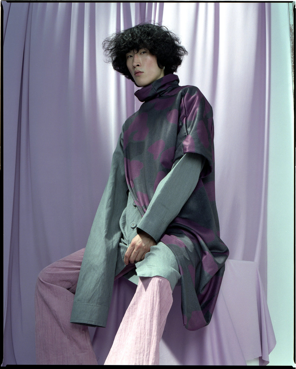 Yukkinngh - LCF Menswear Lookbook