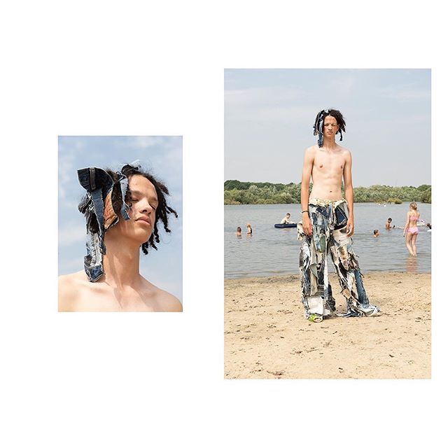 'Ruislip Lido' for @kingkongmagazine Hair @yuukiyanase Kofi B @namedmodels