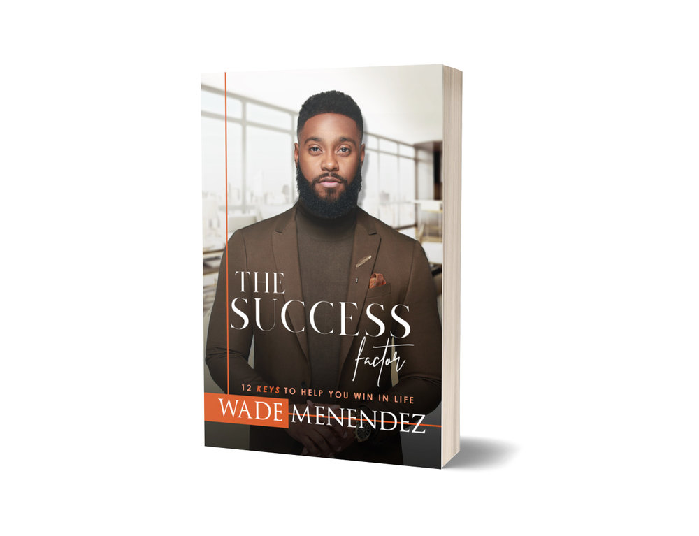 GET YOUR SIGNED COPY - Success is a term that most people want, but the question is, are you willing to do the work? Author Wade Menendez has written a success manual for risk-taskers to prove that it is possible to have fortune and faith at the same time. From the barber chair in Maryland to a worldwide entrepreneur on TV, Menendez has figured out how to win in life without losing your identity or compromising your values. The principles outlined in this book are for everyone to learn from, and will help you to build a business, sustain your success, and manage your relationships. Whether you are a professional barber, a business owner, an executive on Wall Street, a stay-at-home parent, or a high school student, The Success Factor was written with you in mind.