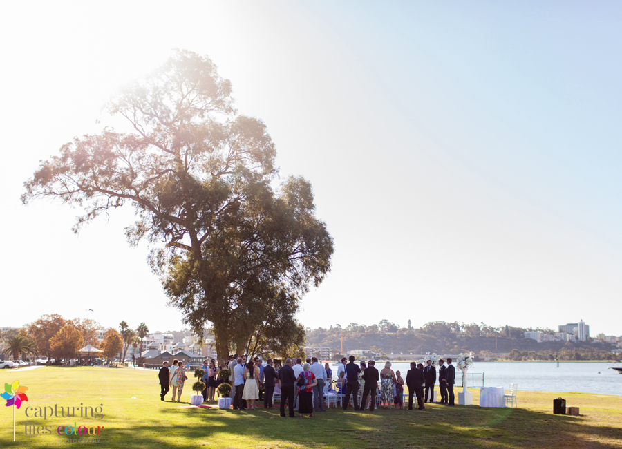 14 South Perth foreshore Wedding
