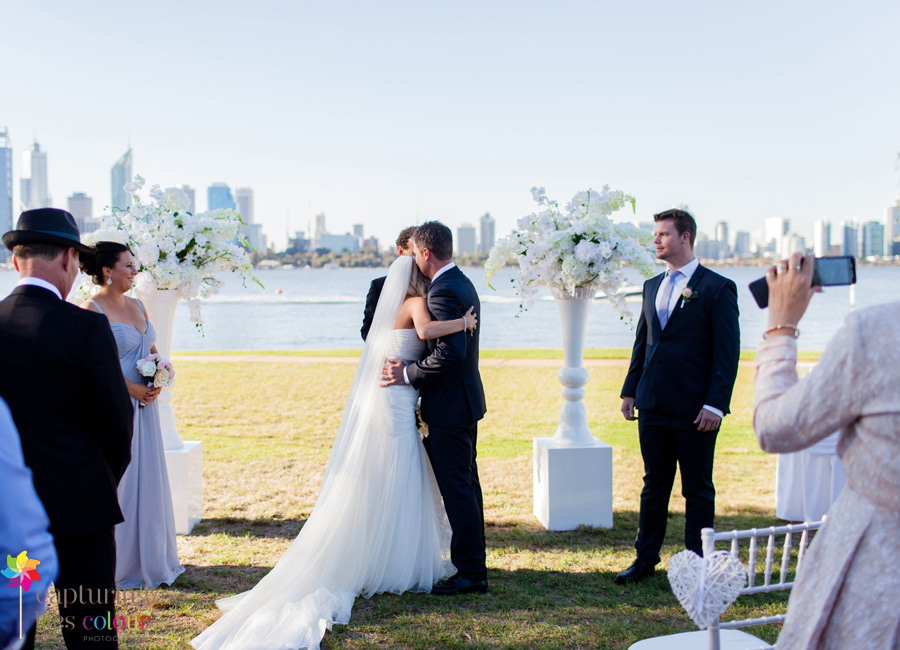 17 South Perth foreshore Wedding