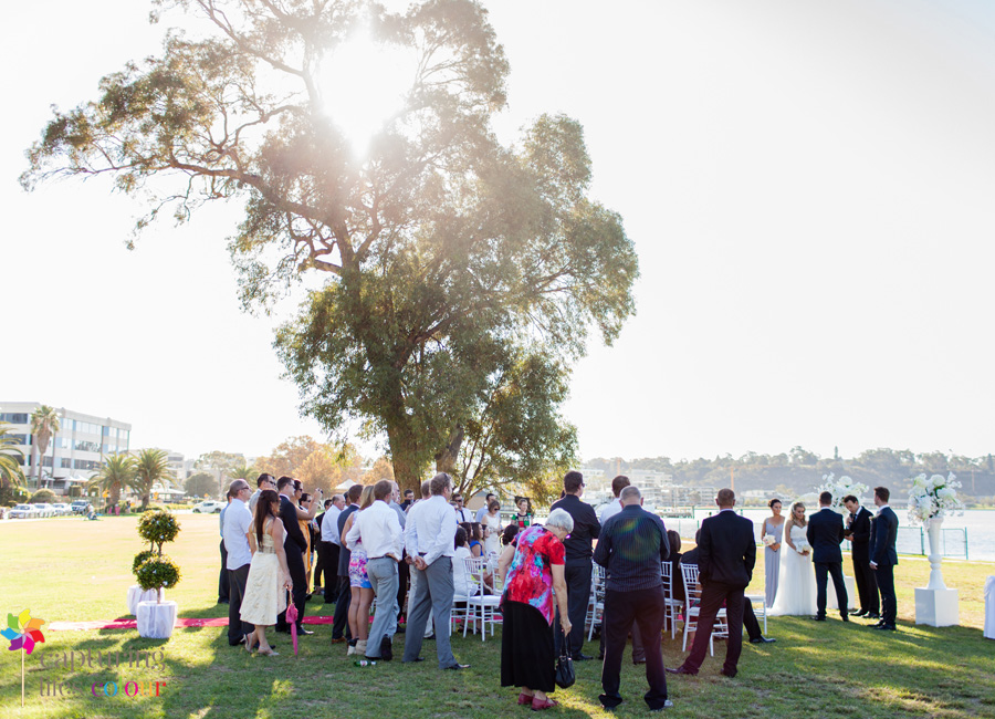 19 South Perth foreshore Wedding