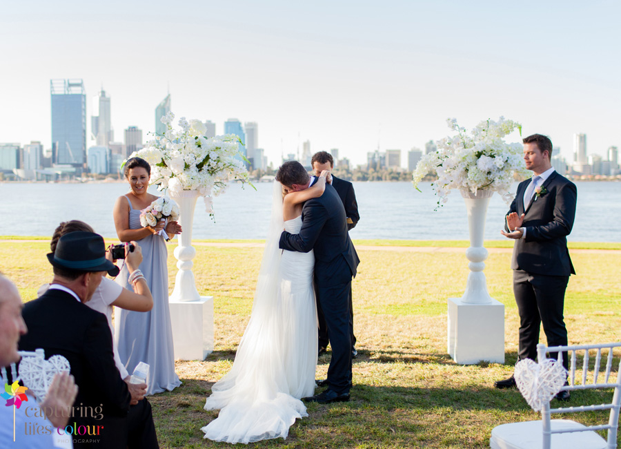 21 South Perth foreshore Wedding