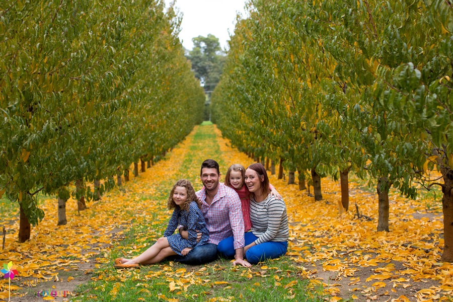 Perth family photographer orchard 1
