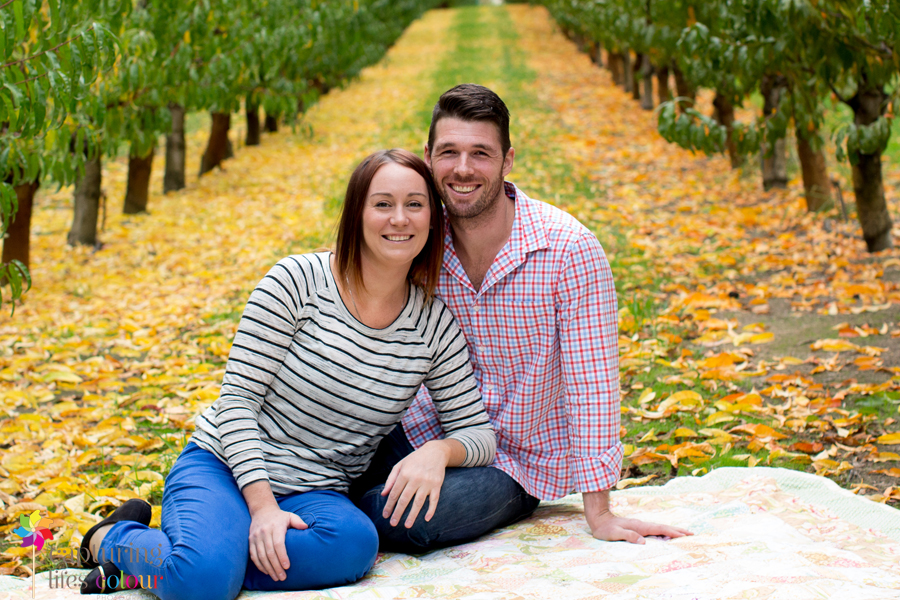 Perth family photographer orchard 10
