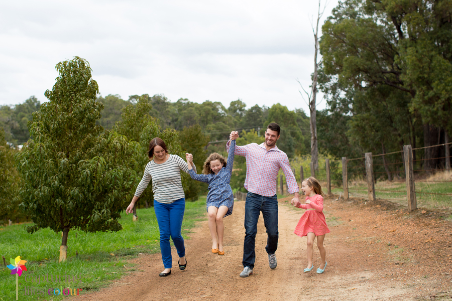 Perth family photographer orchard 16