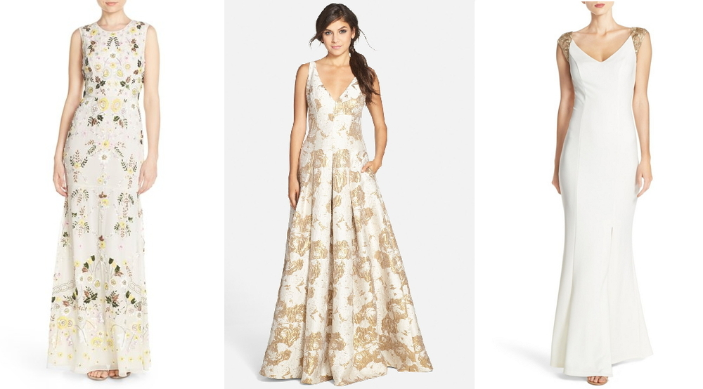 Nordstrom: Sunflower Gown, Aidan Mattox Gown, JS Collections Gown