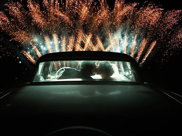 Love Sparks ✨ I love shooting and editing shots like these! . . . . . . #weddingphoto #fireworks #weddingphotography