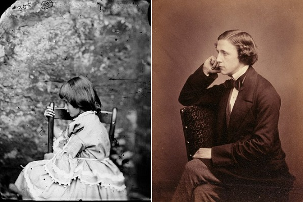 "The Real Alice and the Real Lewis Carroll, whose close relationship is a story for a whole other blog post, entitled ""Don't Let Your Young Daughter Befriend An Aging Male Artist."""