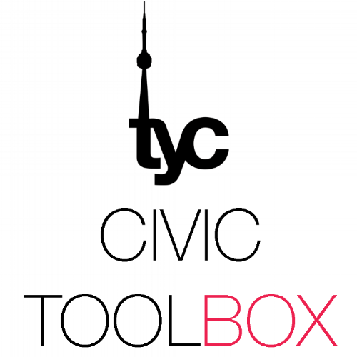 TYC Civic Toolbox - City Hall 101 + Creating ChangeThe TYC Civic Toolbox is a free, online tool for young Torontonians to learn all about their municipal government and how they can have their voices heard and make an impact.The Civic Toolbox was designed by youth for youth, but can be used with Torontonians of any age!The TYC Civic Toolbox contains:- An interactive workshop- Facilitator's guide- Online resources for creating change and influencing local decision-makers
