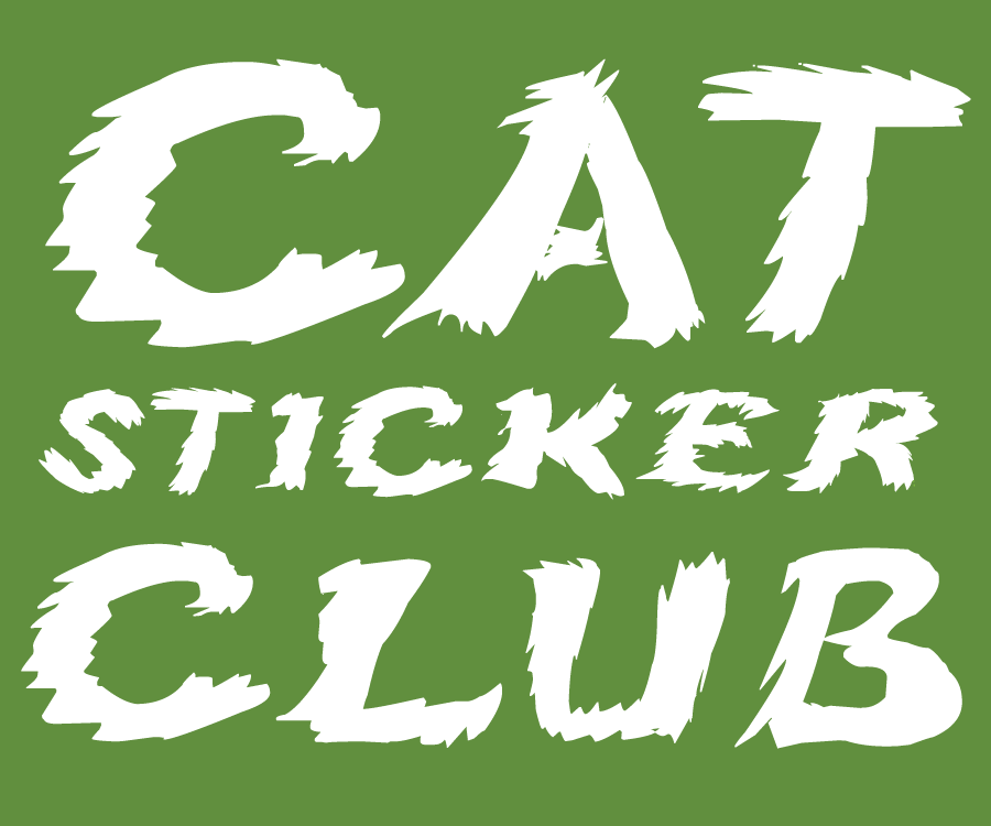 Cat Sticker Club - Join for cute cat stickers!