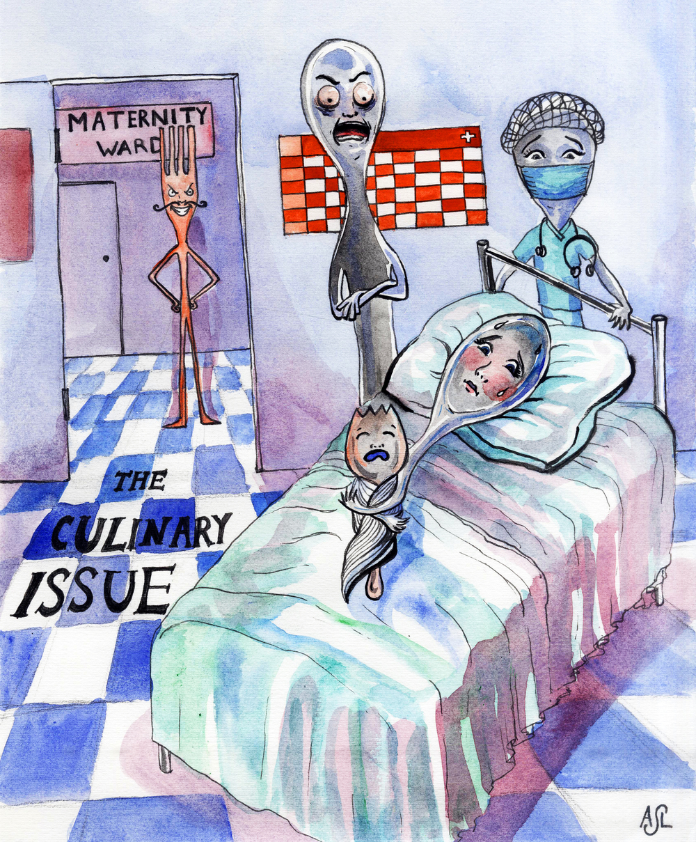 Cover for the Yale Record culinary issue