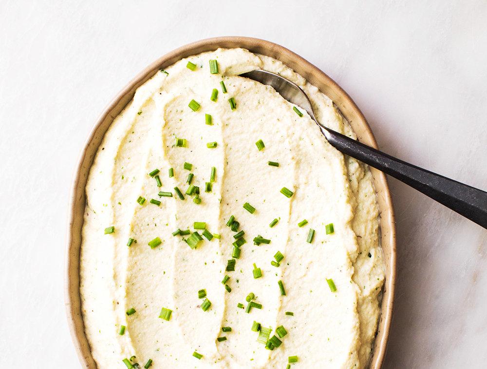 Ricotta Cheese Mashed Cauliflower - Get the recipe here.