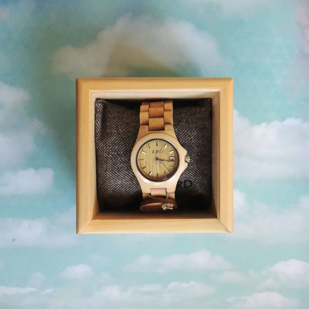 JORD Wood Watch - Ely Maple