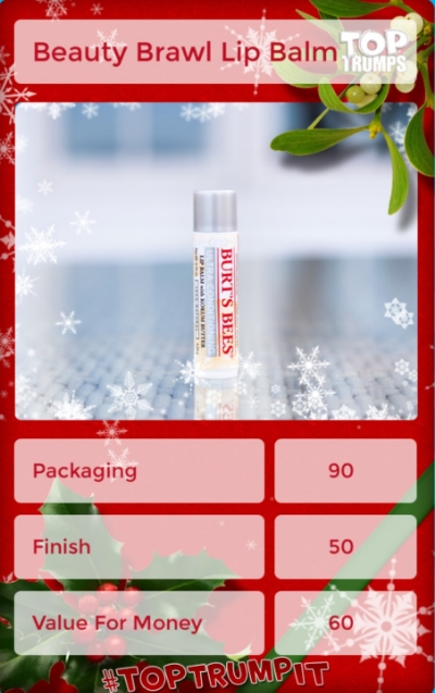 Ten days, ten product reviews: click through for the 2015 #bxbeautybrawl and see A Greater Gorgeous's review of Burt's Bees Ultra-Conditioning Lip Balm!