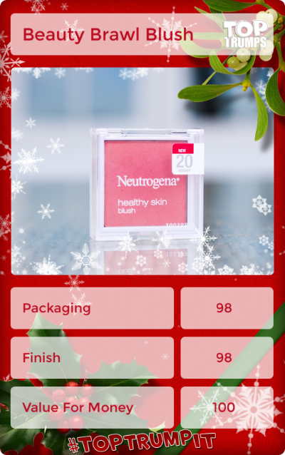 Day nine of the #bxbeautybrawl is blush, and I've chosen Neutrogena Healthy Skin Blush. Click through for my review! Bloggers Christmas Beauty Brawl: ten days, ten products, ten reviews.