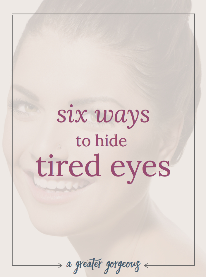 After a bad night of sleep, looking fresh, rested, and awake can be a challenge. Read on for 10 ways to look fresh when you don't really feel it, plus a bonus 6 ways to hide tired eyes!