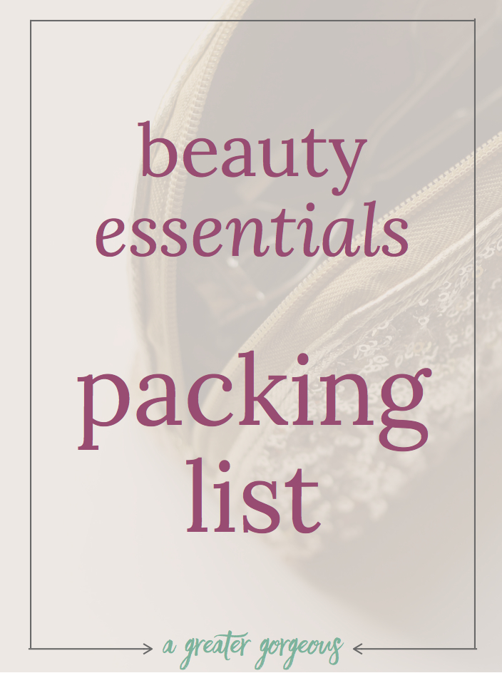 I can pack every toiletry in my house and I'm still going to forget something. Make space in your suitcase with these beauty essentials and tips to beat the suitcase clutter, plus get a downloadable toiletry packing list!