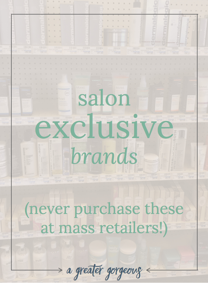 "You may be pumped about those salon products you found at Target, or maybe you picked up some Dermalogica at CVS, but be warned: those products are not what you think they are (think years old, diluted, or sometimes not even real!). Read on for the truth about these supposed ""deals"" on high-end brands in mass retailers!"