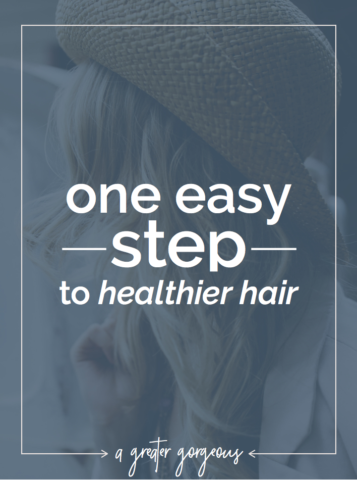 If you just do this one thing, it will make a world of difference in the health of your hair!