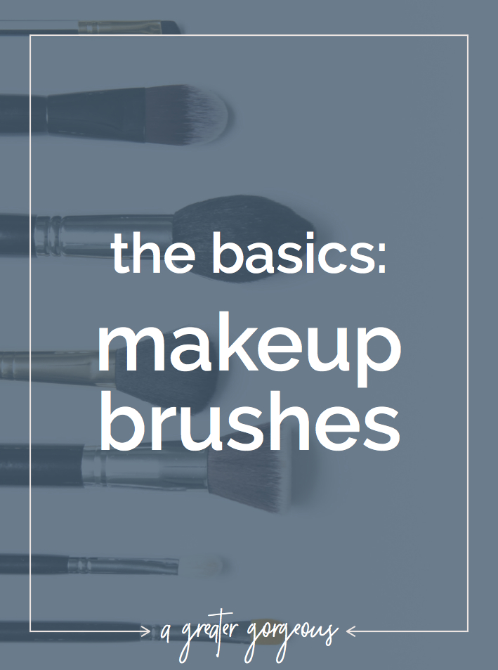 If you're a little lost on how to use brushes to apply your makeup, start here!