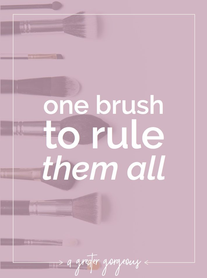 My holy grail makeup brush!