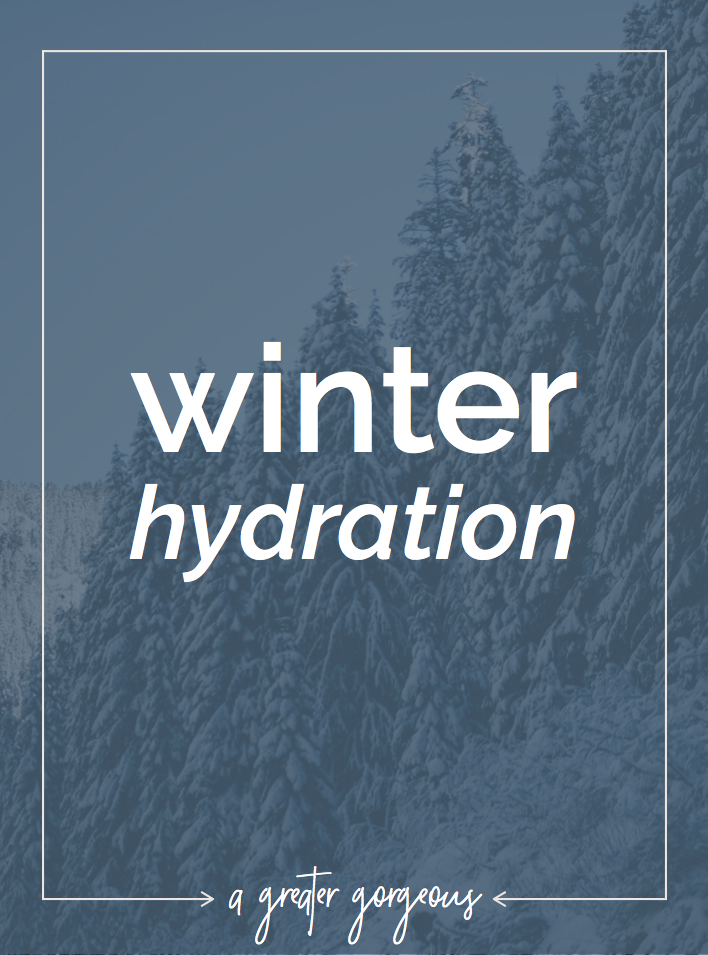 Keep your winter skin healthy with these hydrating products!