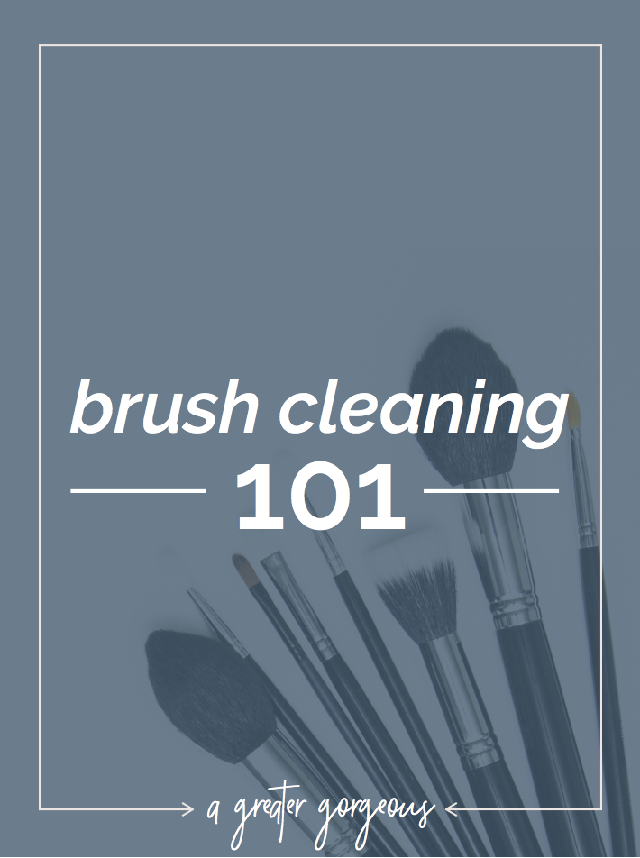 You hear it all the time: you need to clean your brushes! And it doesn't have to be a mystery anymore. Here's how to clean your makeup brushes!