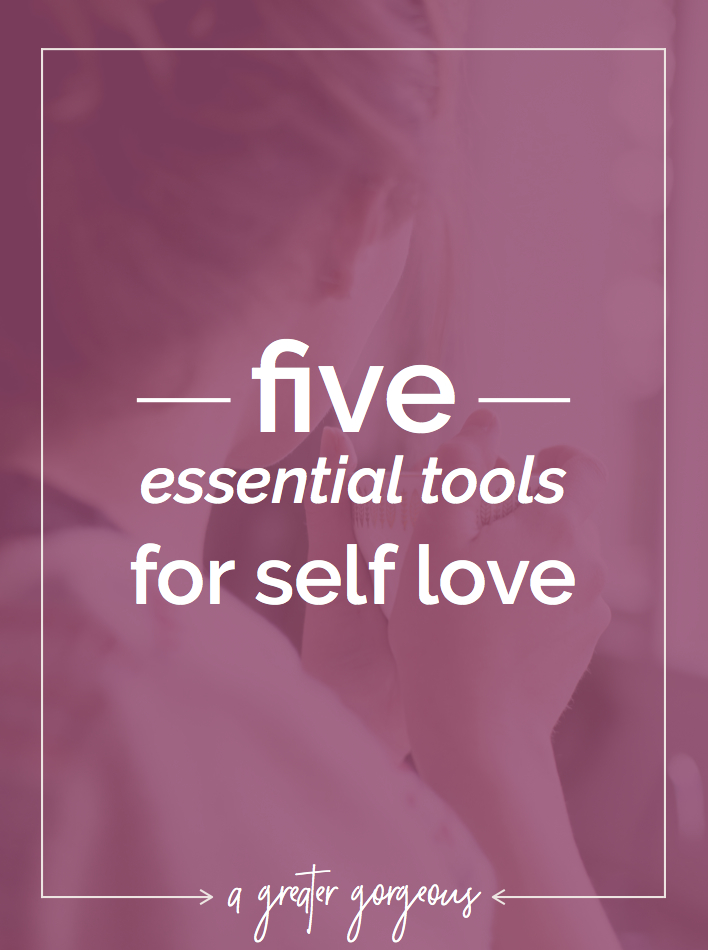 It's no secret — even though we don't talk about it much — that it can be really difficult to think positive thoughts about yourself. And those thoughts affect absolutely EVERYTHING in your life. Click through for five things you need (and that you have!) to be on the path to real, true, self love.