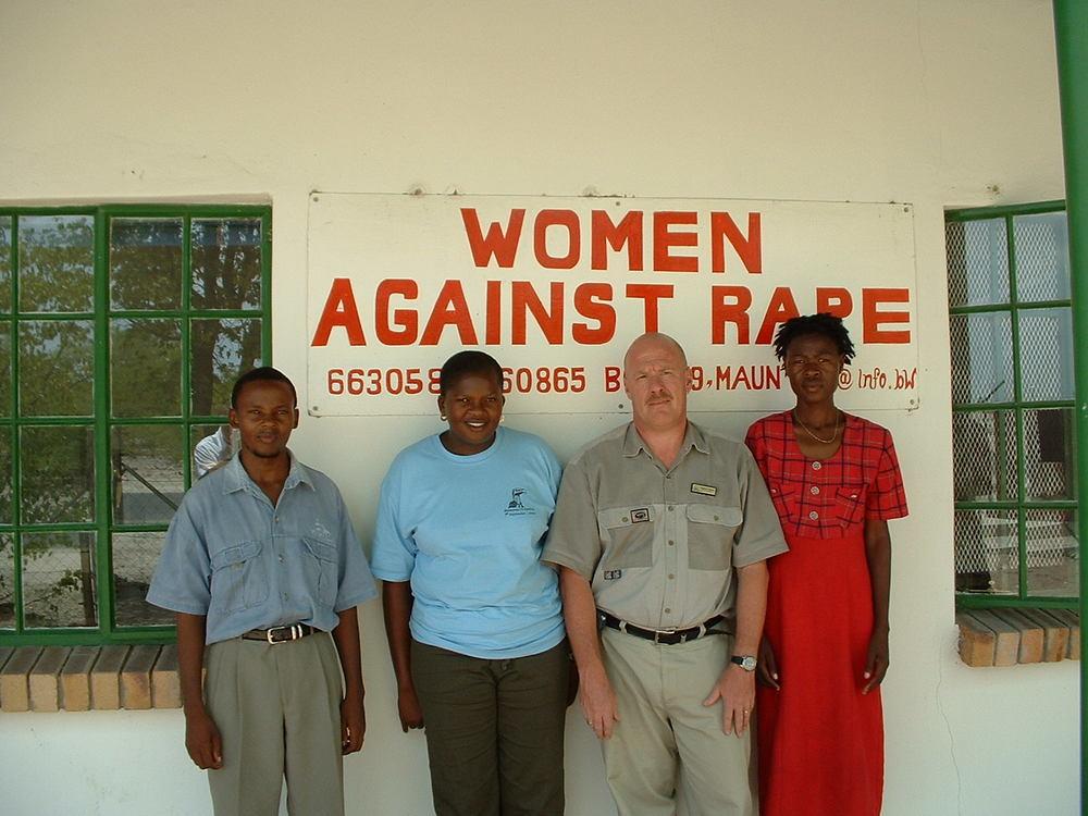 Women Against Rape in Maun, Botswana