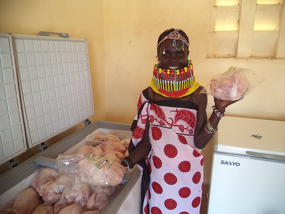 In Turkana, Kenya, USADF is supporting emerging enterprises, like Napucho Poultry Community Organization (above), that are laying a strong foundation for food security in the region. Photo Credit: Wycliffe Juma