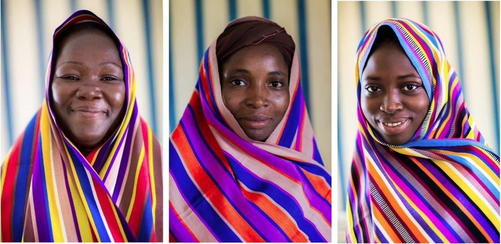 Ponsomentaga weavers, Burkina Faso