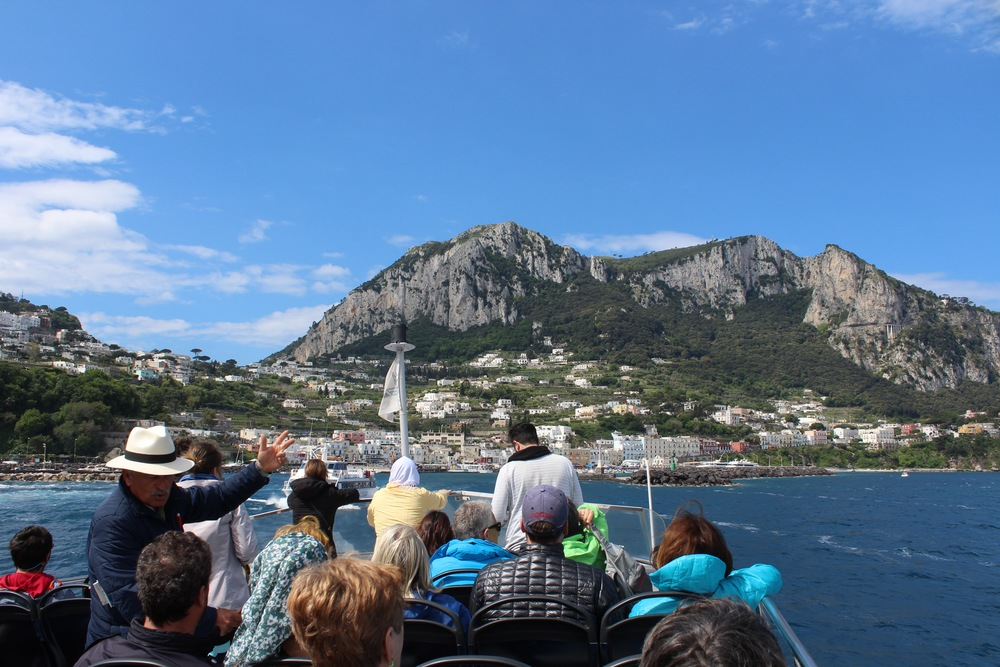 Ferry to Capri