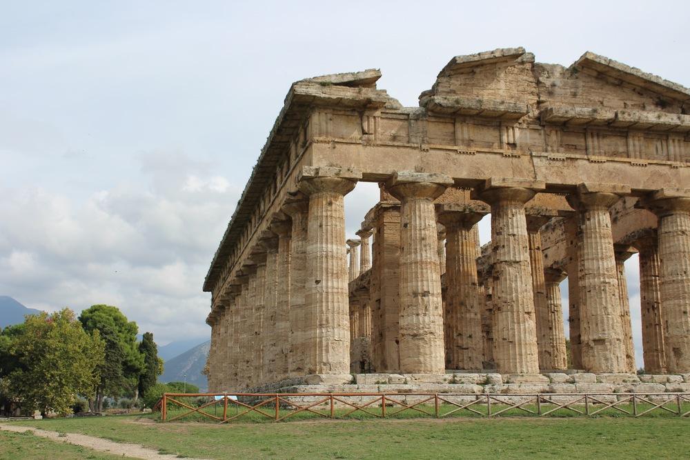 Tour of Paestum temples