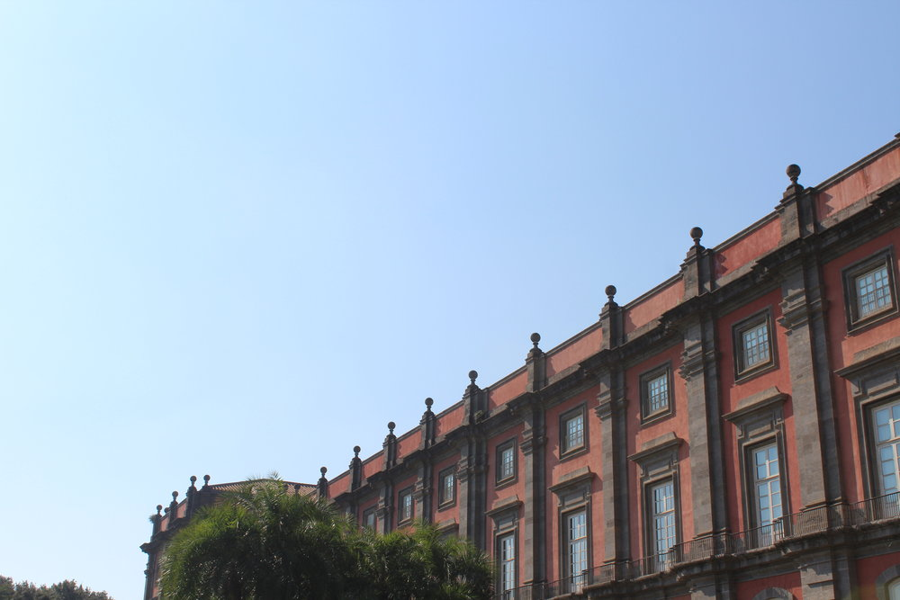 Originally a Bourbon Palace, Capodimonte sits in the middle of a public park overlooking the historic center of Naples.