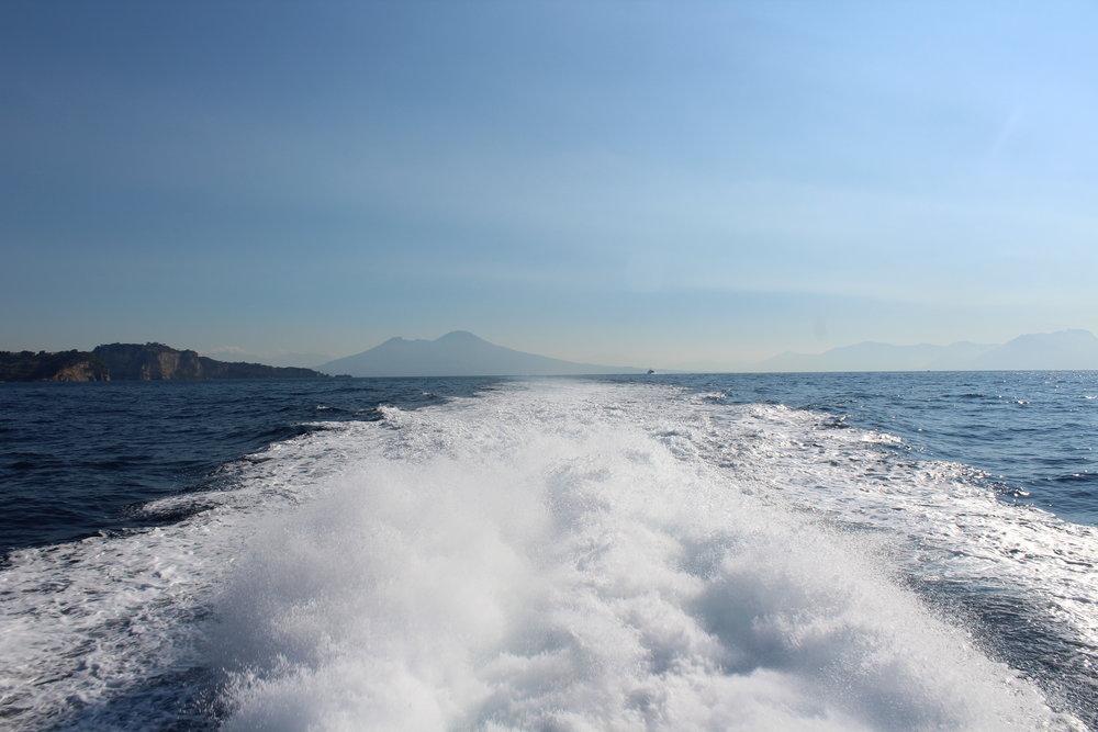En route to Ischia