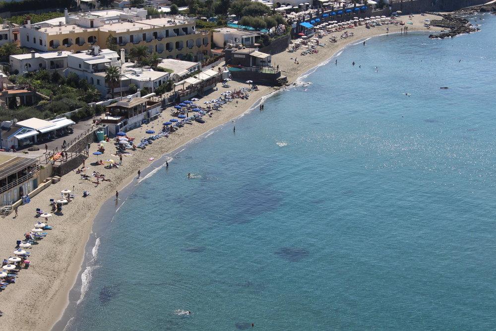 Forio beach